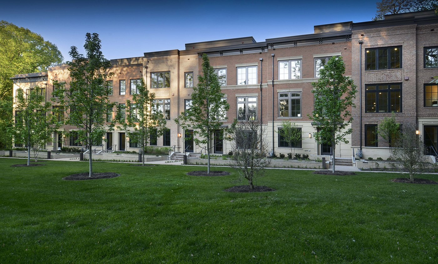 New Homes In Montgomery County are Modern Interpretations of Classic Urban Brownstones