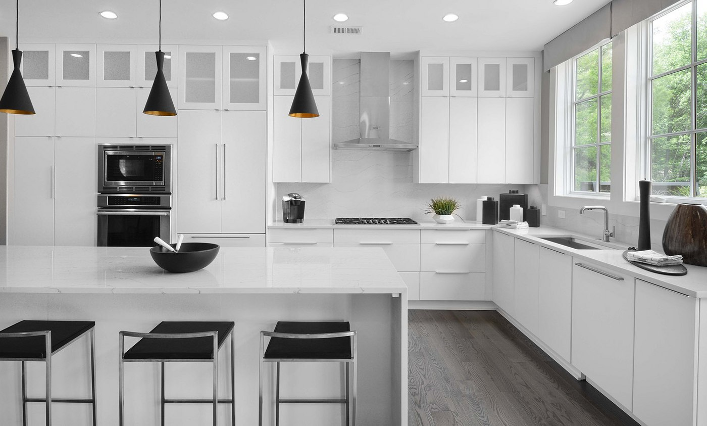 EYA's new homes in Montgomery County offer kitchen options that include the latest design trends and technology features