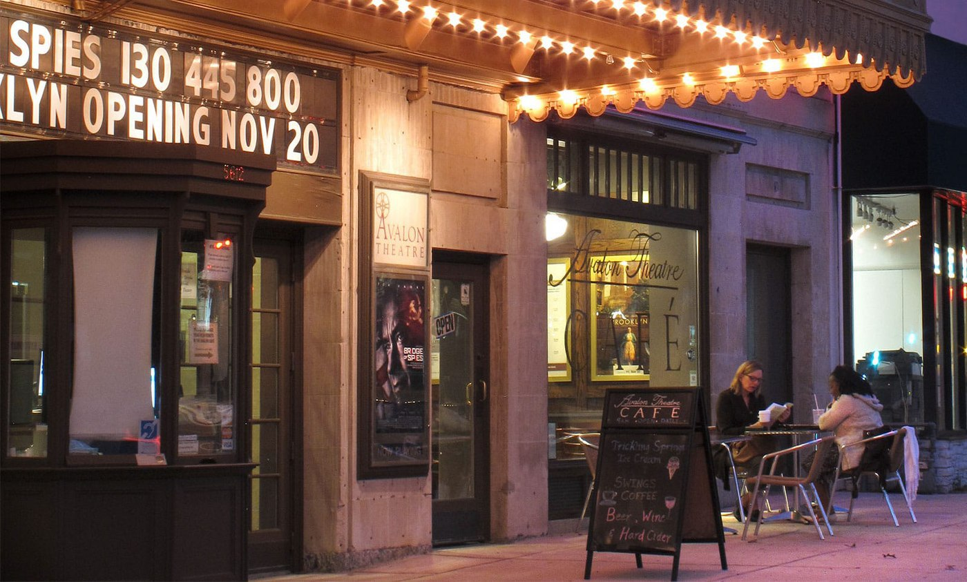 Enjoy a night on the town at the beautiful Avalon Theater and at Chevy Chase restaurants