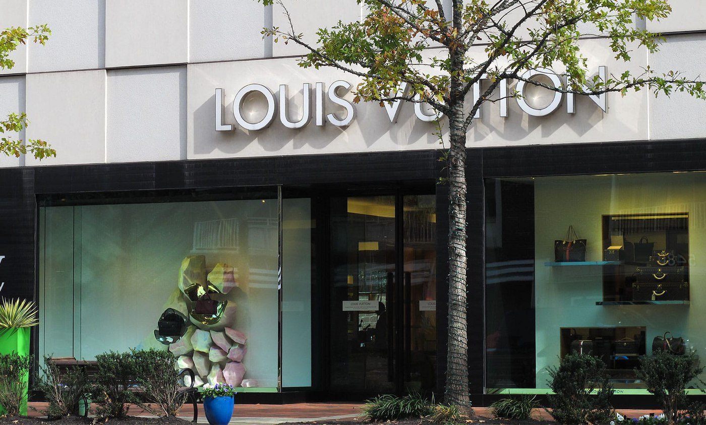 Discover something new and exciting at Louis Vutton just steps away from our luxury homes for sale