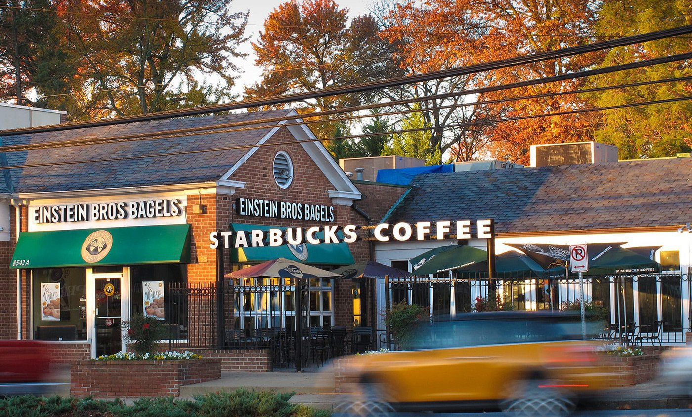 Your favorite cup of coffee is just steps away from your new home in Montgomery County