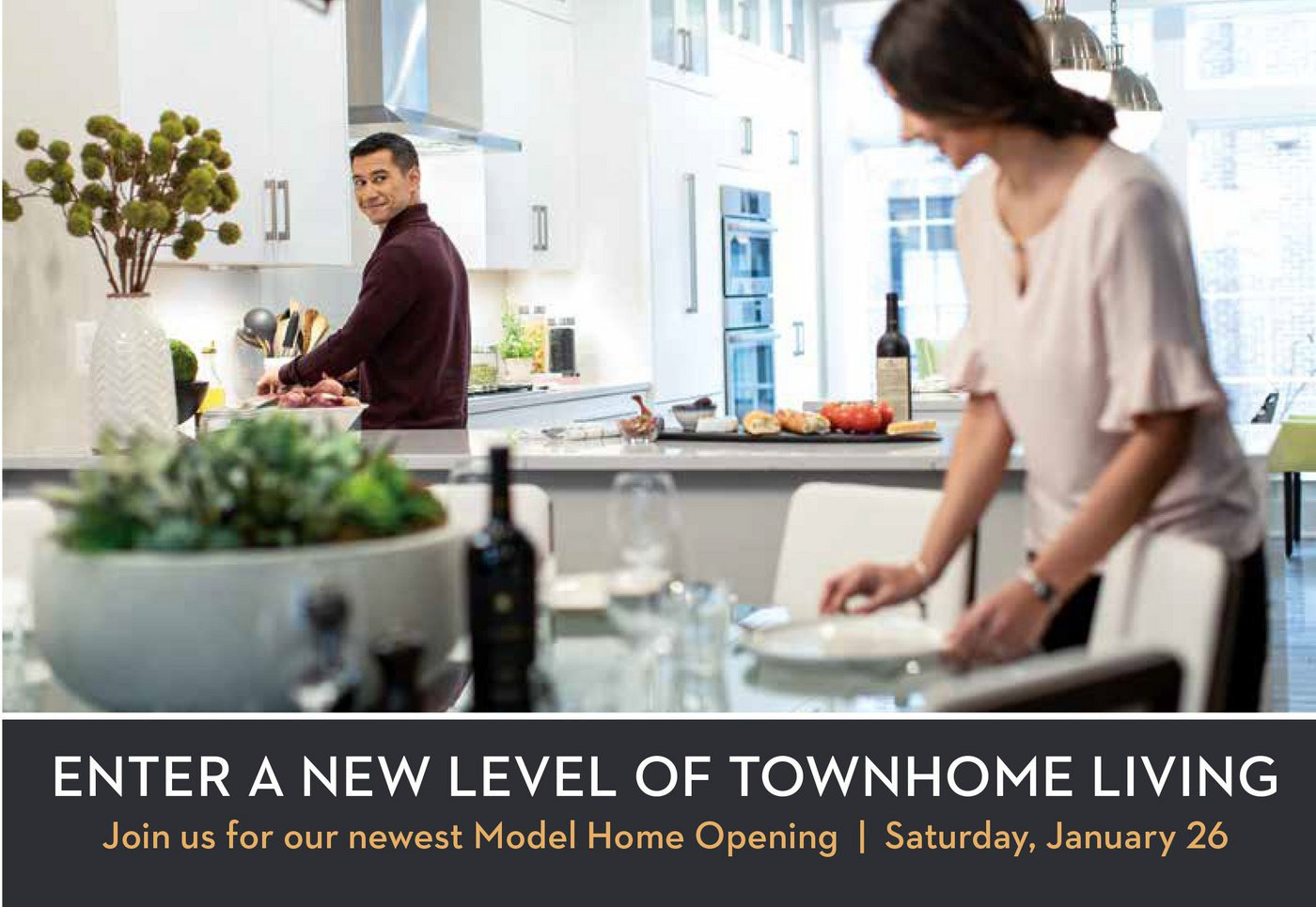 Stanford model home grand opening: January 26